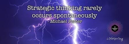Strategic Thinking - Michael Porter